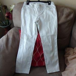 Inc Denim Size 4 Shimmery Jeans EUC